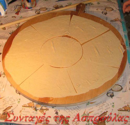 Μια άλλη τεχνική για άνοιγμα φύλλου για πίτες