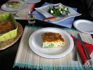 Σκεπαστή τάρτα με μπρόκολο ρύζι και τυριά (7)