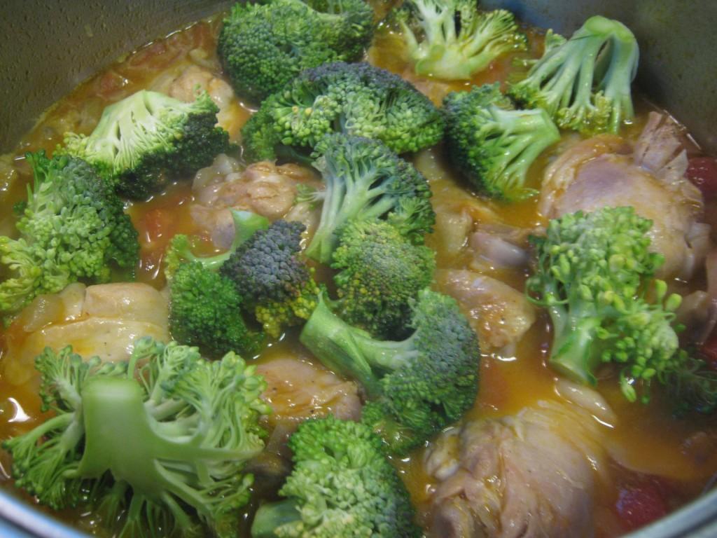 Κοτόπουλο με μπρόκολο (4)