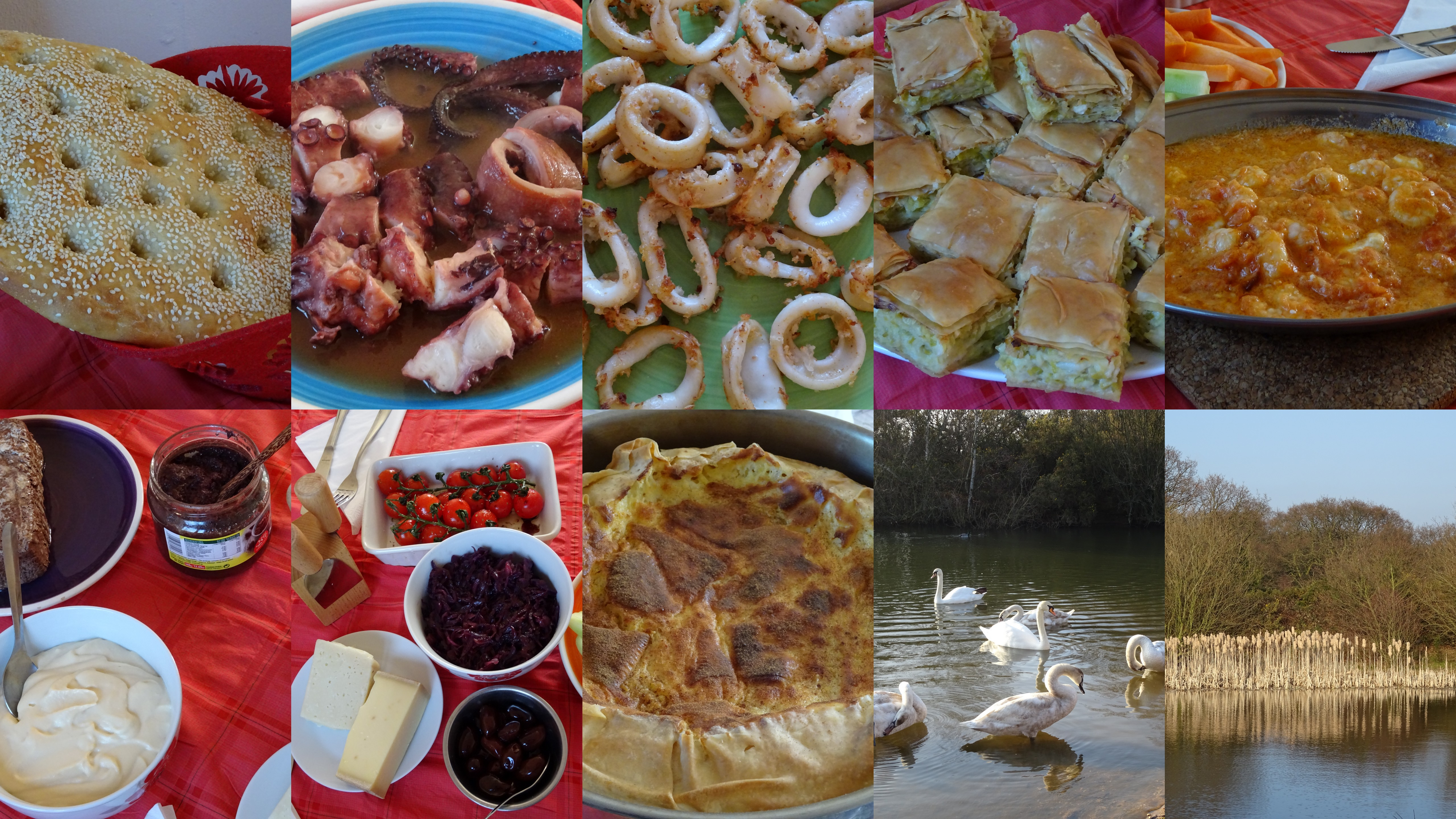 Κυριακή φαγητά πάρκο