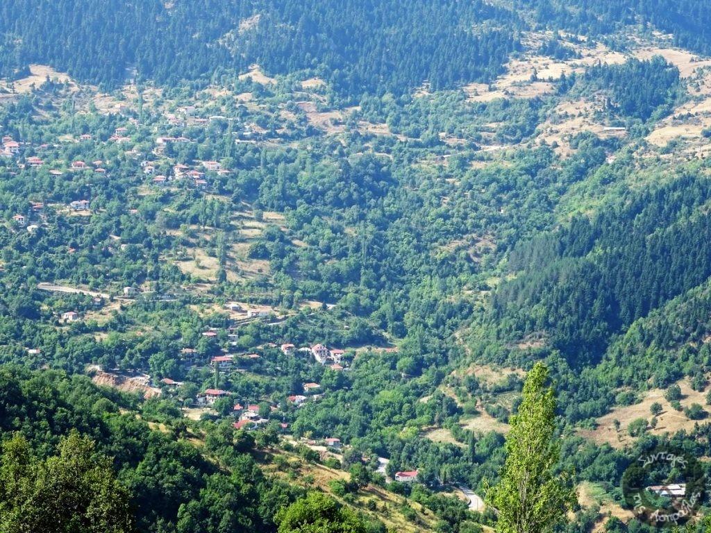 Μερική άποψη του χωριού