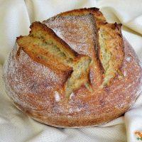 Ψωμί αργής ωρίμανσης, με προζύμι, βήμα βήμα