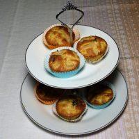 Muffins  με μήλο και αχλάδι