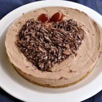 Cheesecake  με σοκολάτα Toblerone